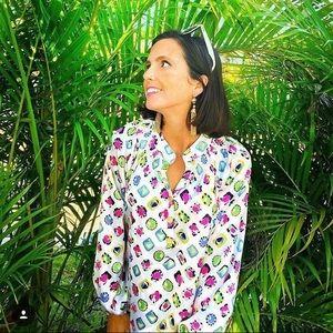 Tracy Negoshian jewel print top